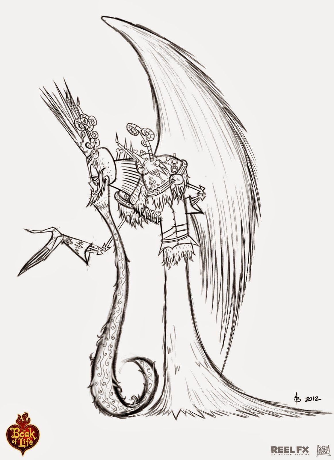 Character Design Book Of Life : Andy bialk quot the book of life xibalba character poses