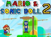 Mario and Sonic Doll 2