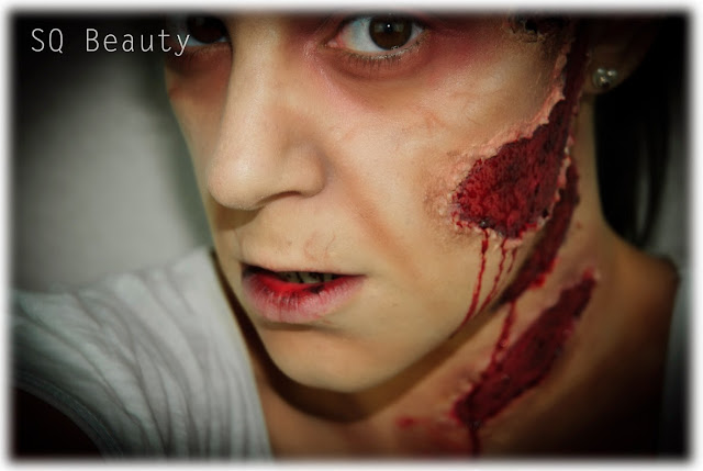 Maquillaje Halloween Zombie FX The Walking Dead Makeup Silvia Quiros