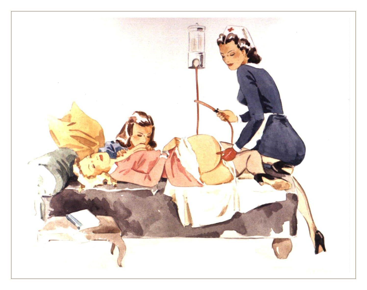 Эротические медсестры рисунки 16 фотография