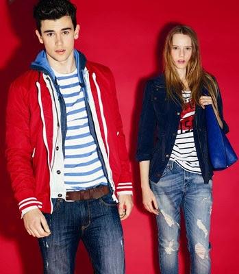 estilo marinero primavera 2014 El Corte Inglés moda joven Green Coast