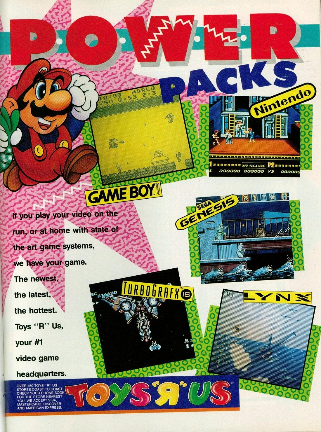 Boys Toys Big Game : Classic game boy ads august