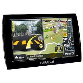 Papago Z-1 - 5 TFT Color Touch Screen Peta Asia Tenggara 128 MB RAM