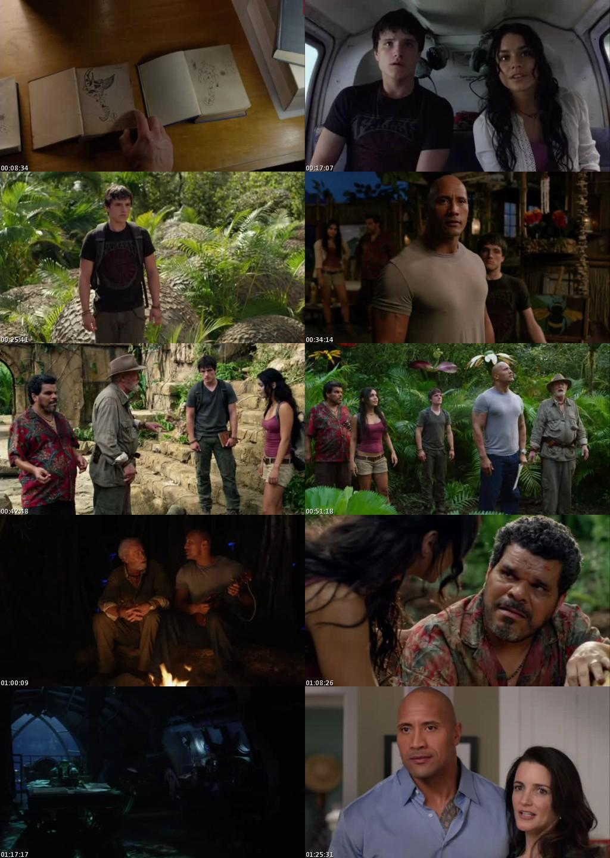 Viaje 2: La Isla Misteriosa (2012) [DVDRip] [Latino]