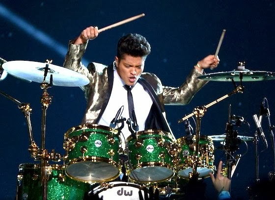 Bruno Mars Superbowl image