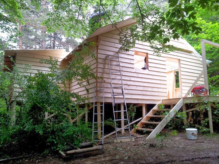 Дървена къща 1