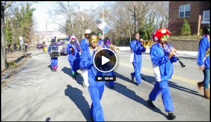 WatchMardi Gras RVA!  2014 Parade Video