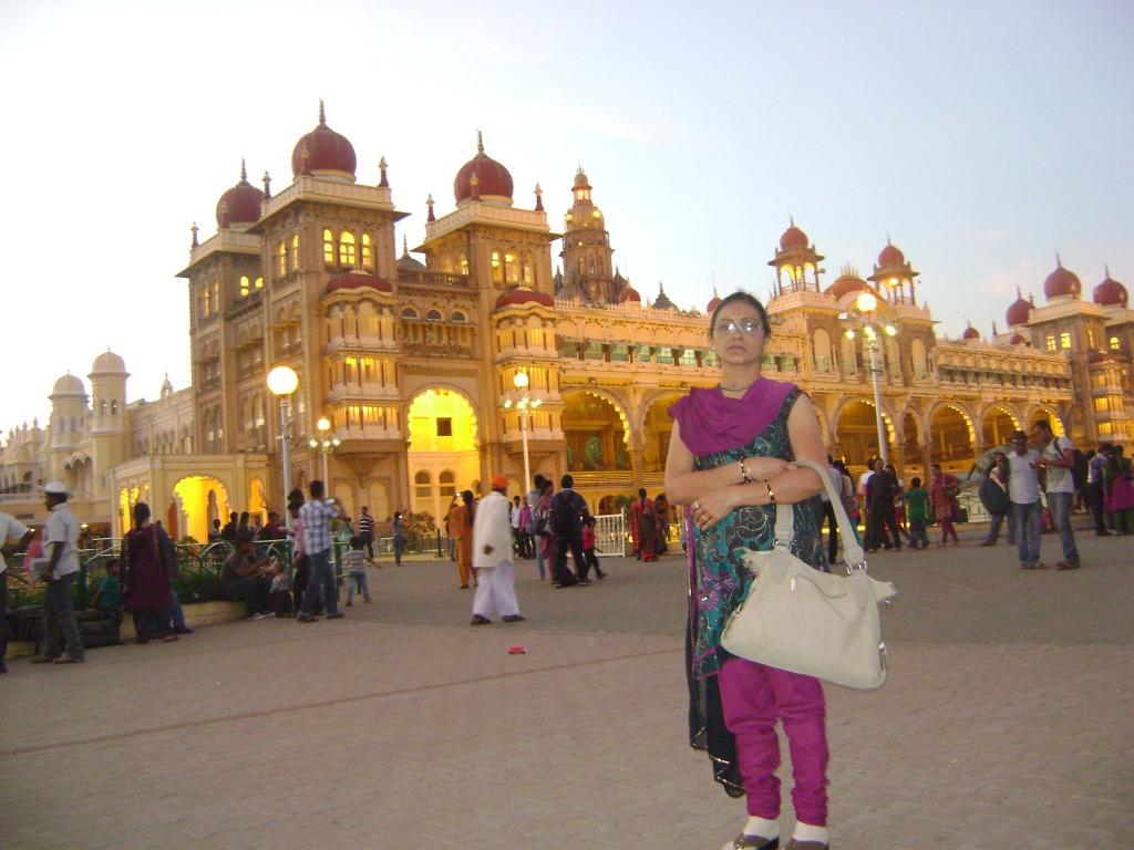 Amrit Ukey Mysore Visit