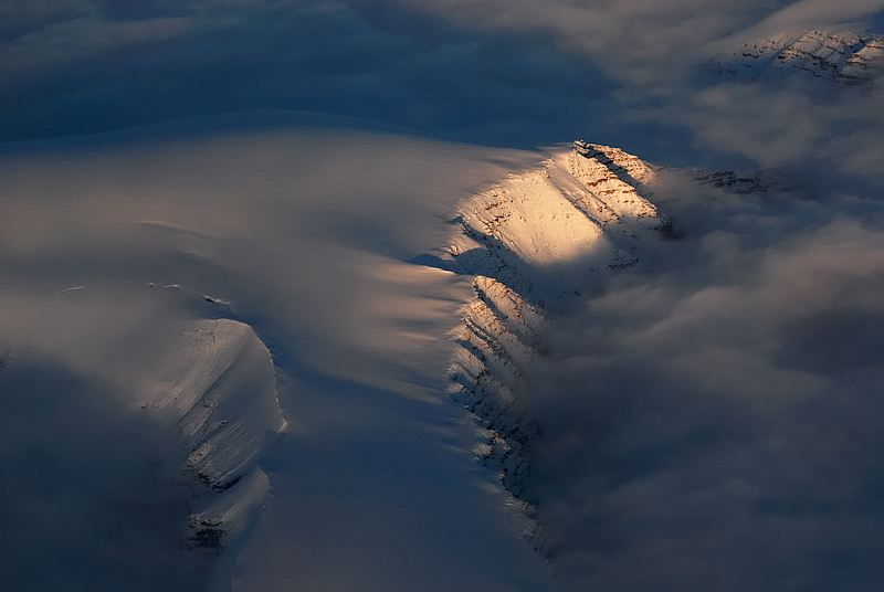 Svalbard mountains