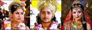 Arjuna, Drupadi dan Subadra