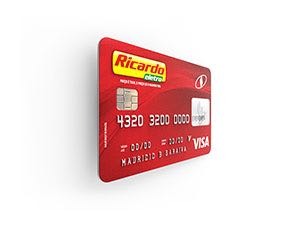 Cartão ricardo eletro visa losango fatura