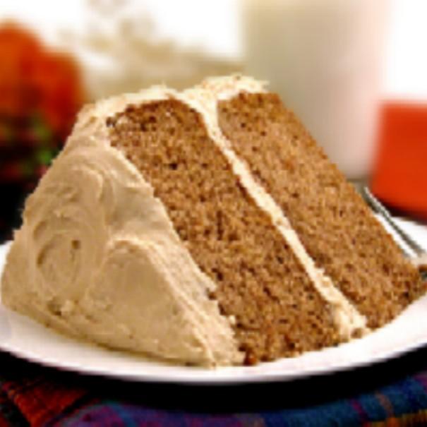Apple Butter Spice Sheet Cake