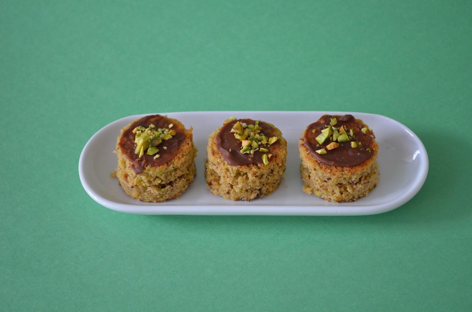 biscotti med sitron og pistasjnøtter