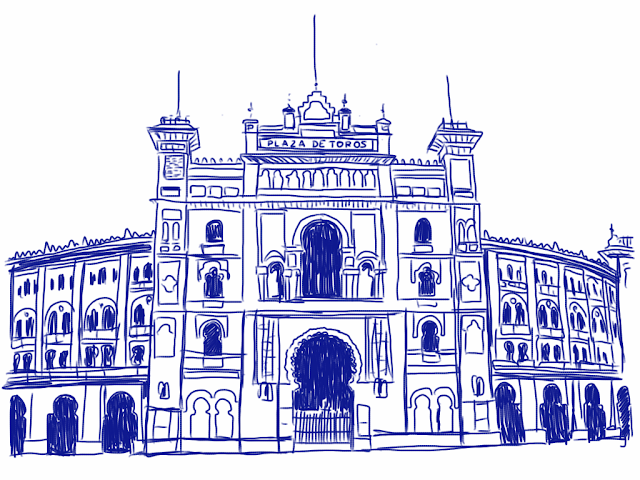 Las ventas drawing