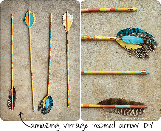 vintage arrow DIY