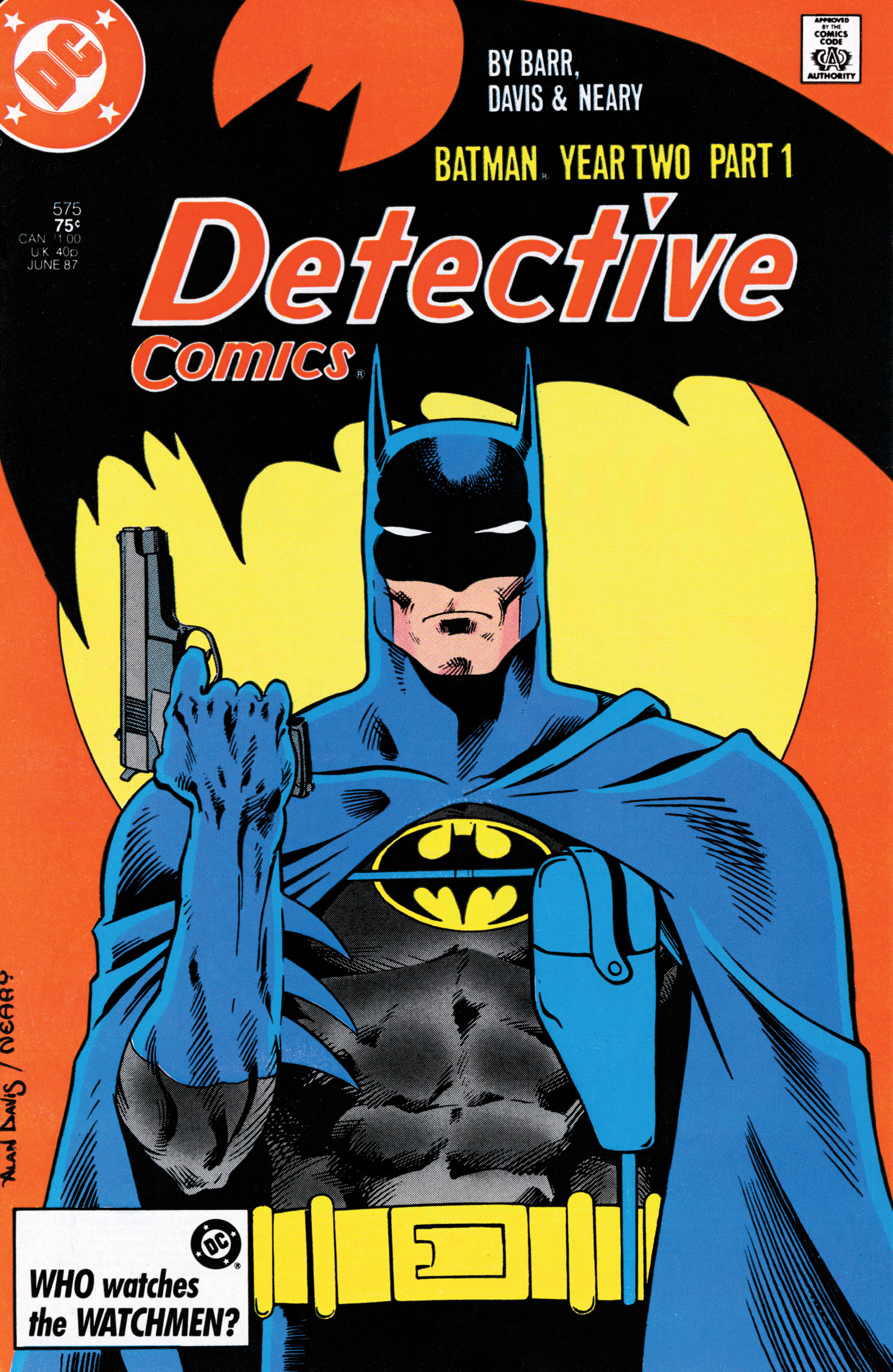 Detective Comics (1937) 575 Page 1