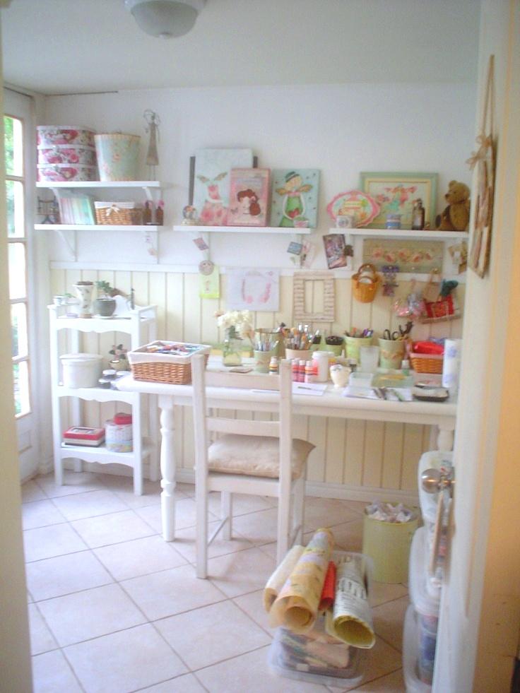 Dulces pilukas craft room ideas para organizar tu for Ideas for craft rooms