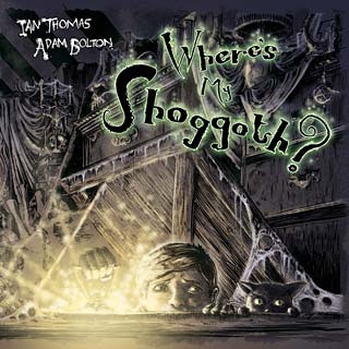 Where's My Shoggoth?, 2012, copertina