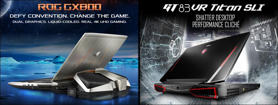 Gaming Laptops feature SABRE HiFi