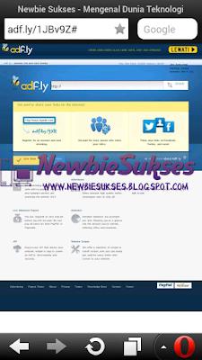 Jika sudah anda akan masuk web seperti di bawah ini