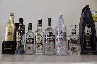 Rượu vodka Nga chính hãng -Thực phẩm Nga