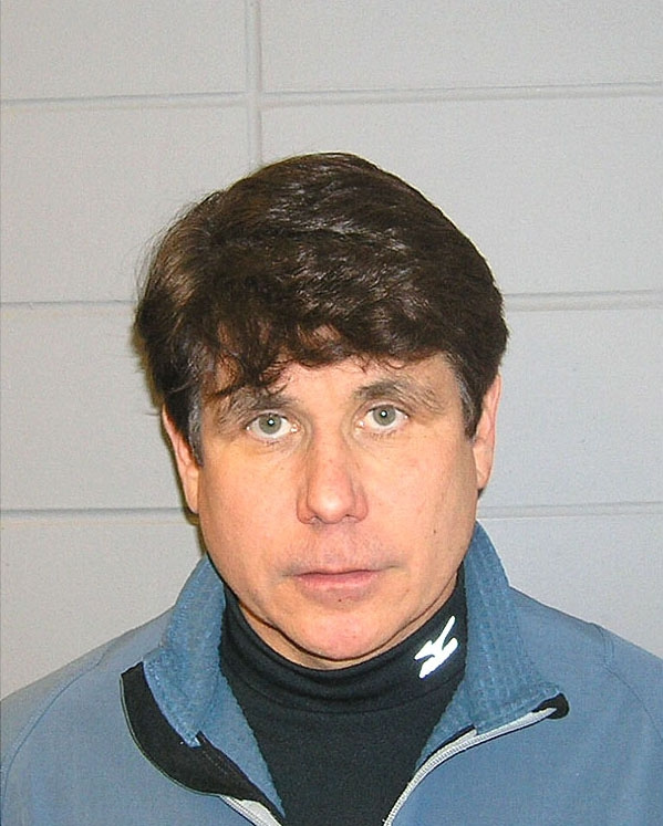 blagojevich umbrella. rod lagojevich haircut.