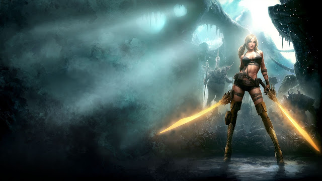 Blades of Time HD Wallpaper