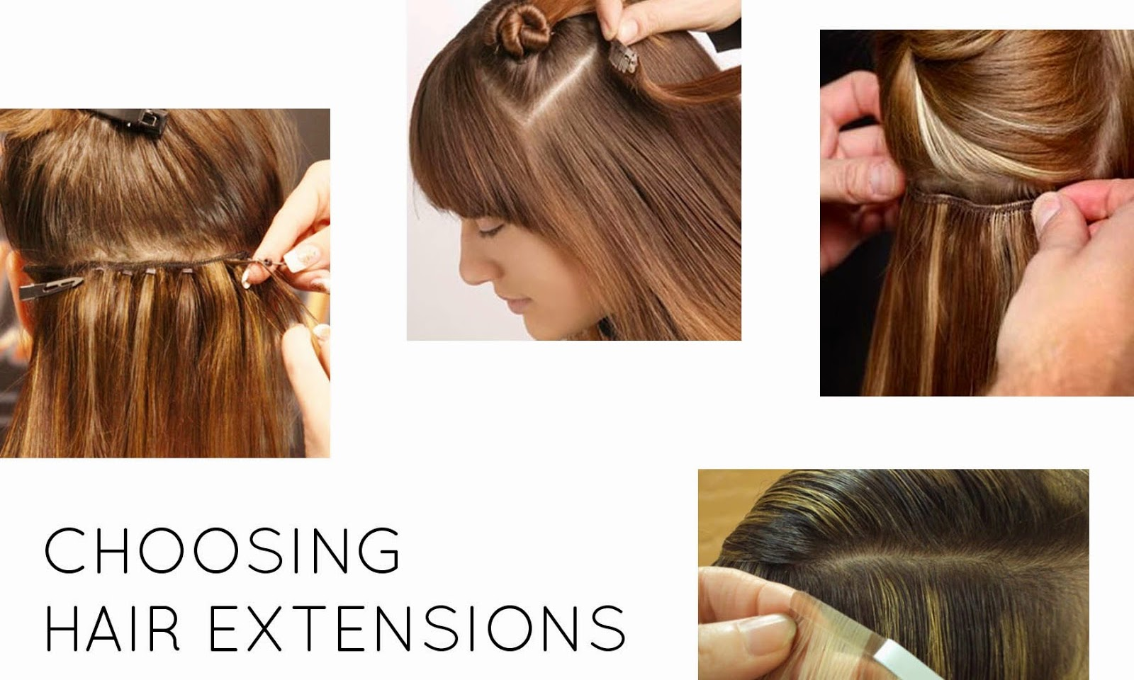 choosing hair extension