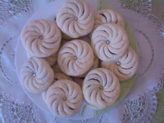حلويات مغربية  طريقة عمل حلوة المروحة بالكاوكاو سهلة وبسيطة في دارك