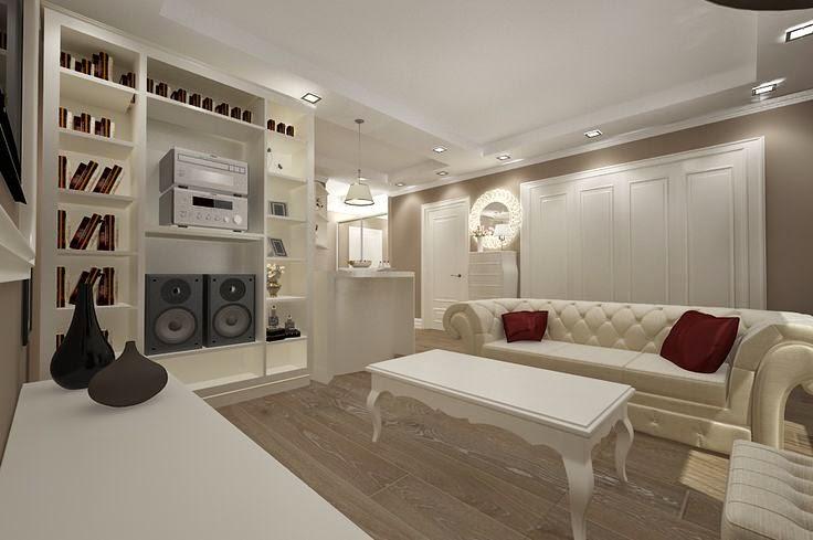 Design interior living apartament constanta