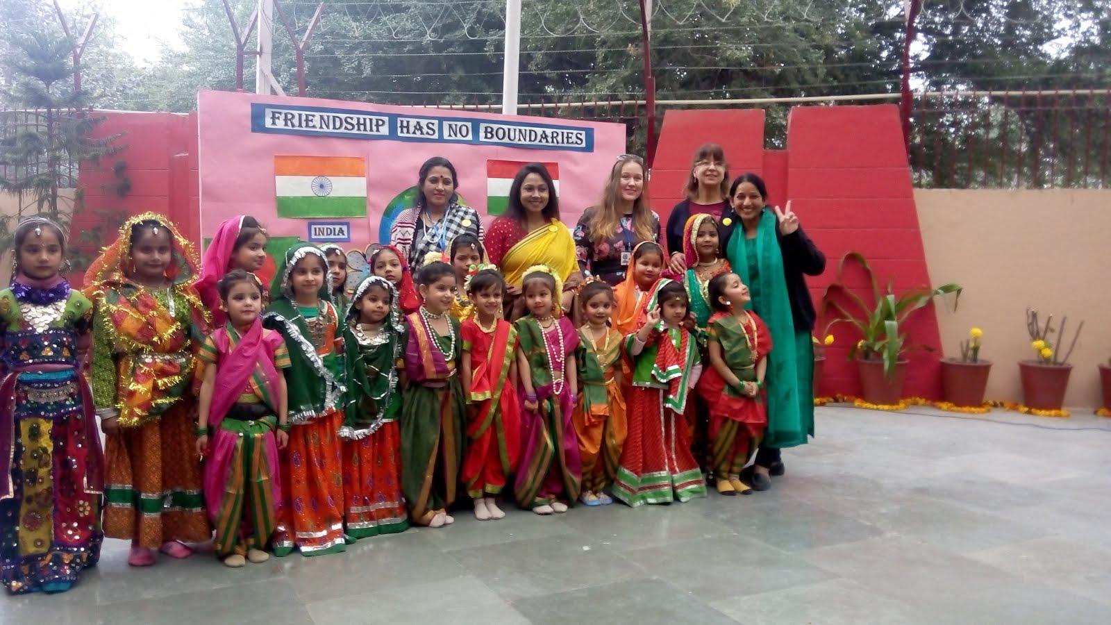 Indiában-Iskolában