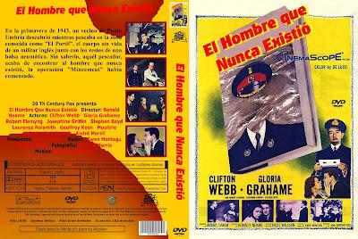 Cover, dvd, caratula: El hombre que nunca existió | 1956 | The Man Who Never Was