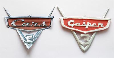 Cars logo fondant
