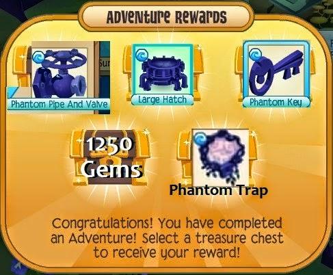 animal jam bubble trouble adventure prizes on meet