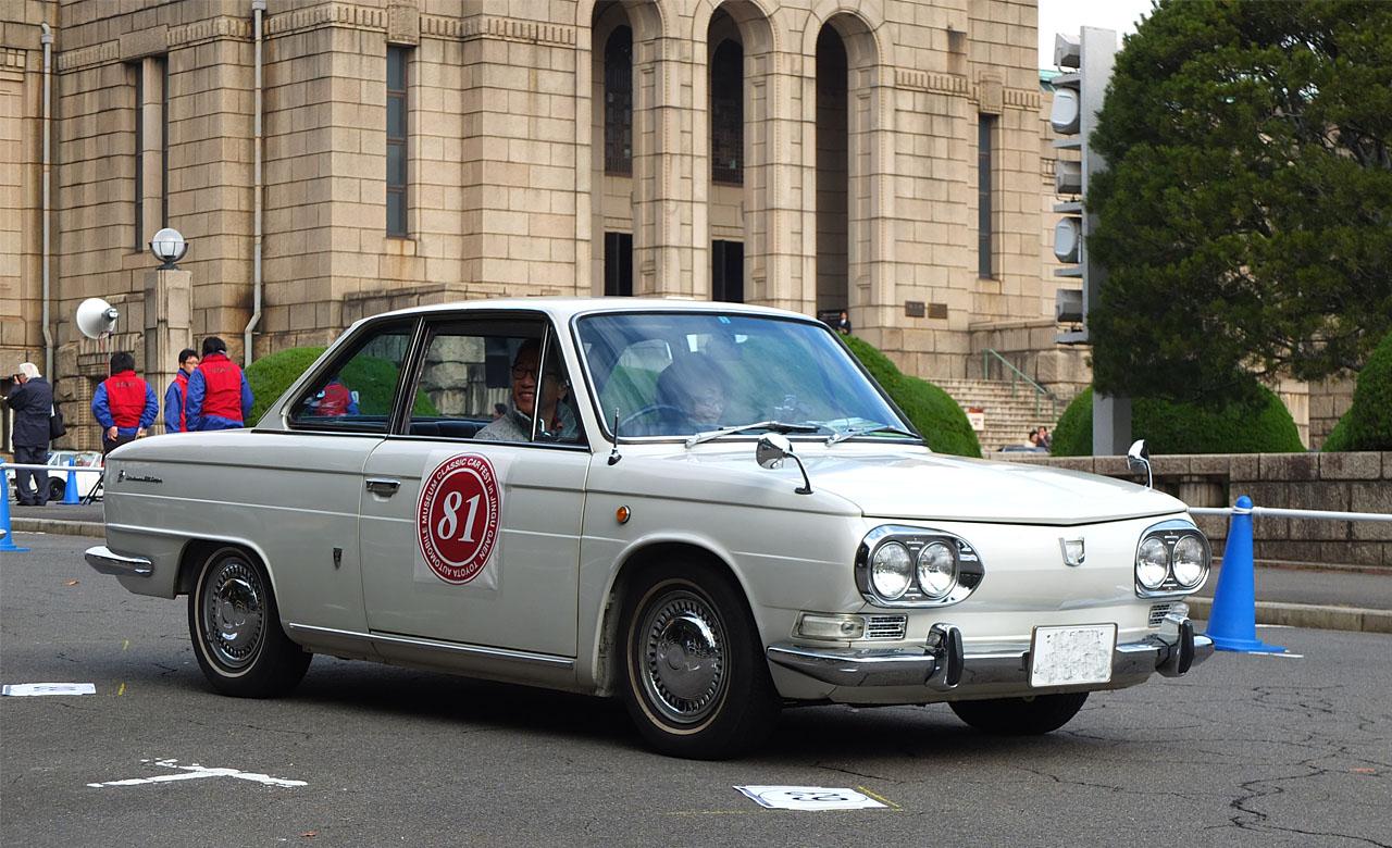 Hino Contessa, zlot klasyków, Japonia, kultowe auta, zdjęcia