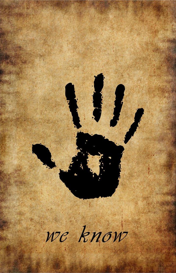 Brother Symbol Skyrim Dark Brotherhood Symbol Imgkid