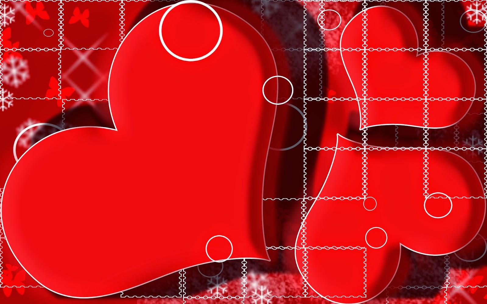 خلفيات قلوب رومانسية
