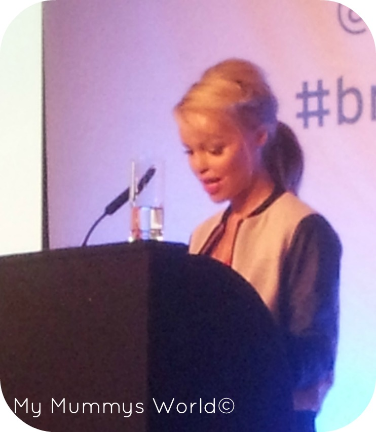 Katie Piper Speaking At BritMums Live 2013 : My Mummys World©