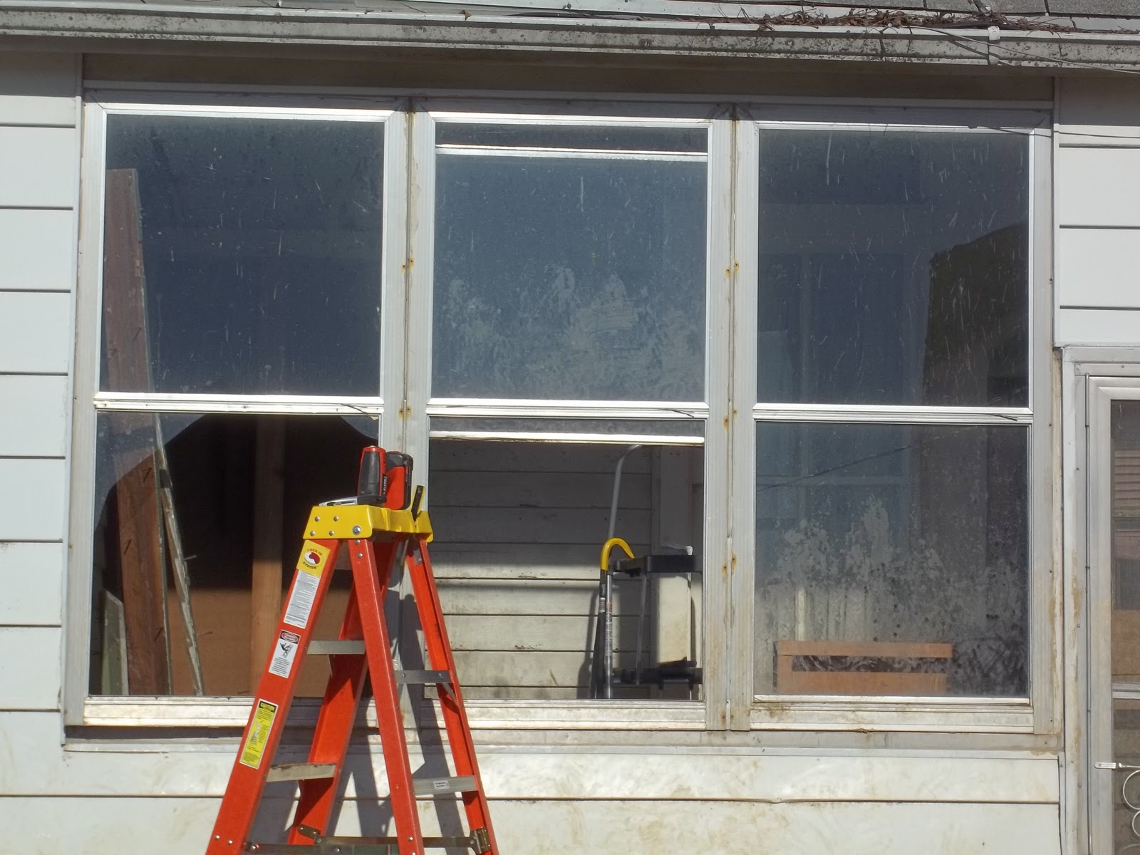farm girl vs farm house part 1 window framing and no installation - Window Framing