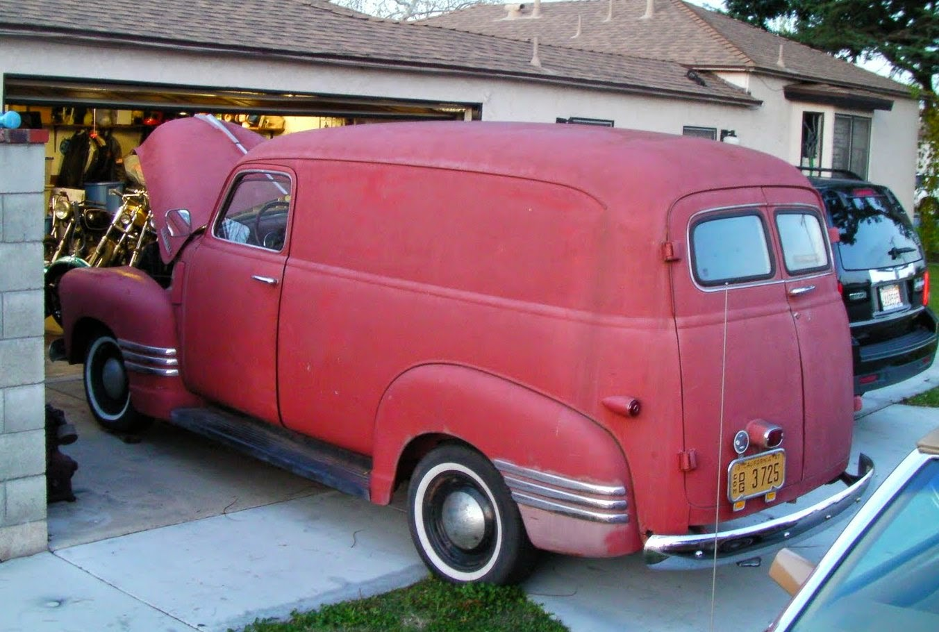 Gabe s 1947 chevy deluxe panel truck