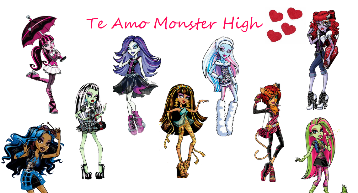 Te Amo Monster High