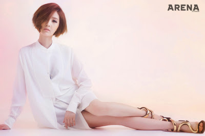 Kim Yu Ri - Arena Homme Plus Magazine November Issue 2013