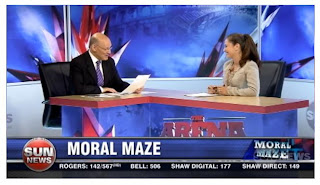 """VIDEO: What do used pornographic magazines have in common with encyclopedias? See Tanya Granic Allen on """"The Arena"""" with Michael Coren (Sun News Network)"""