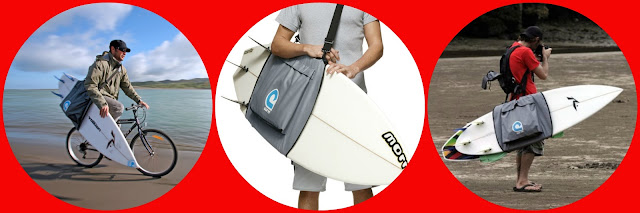 surfboard sling bag