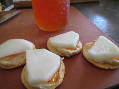 Kohlrabi snacks