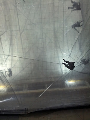 hangar bicocca, space time foam, tomas saraceno, artistic experience, alice mirta blog, the styleinspire, italian fashion blog, italian style blog