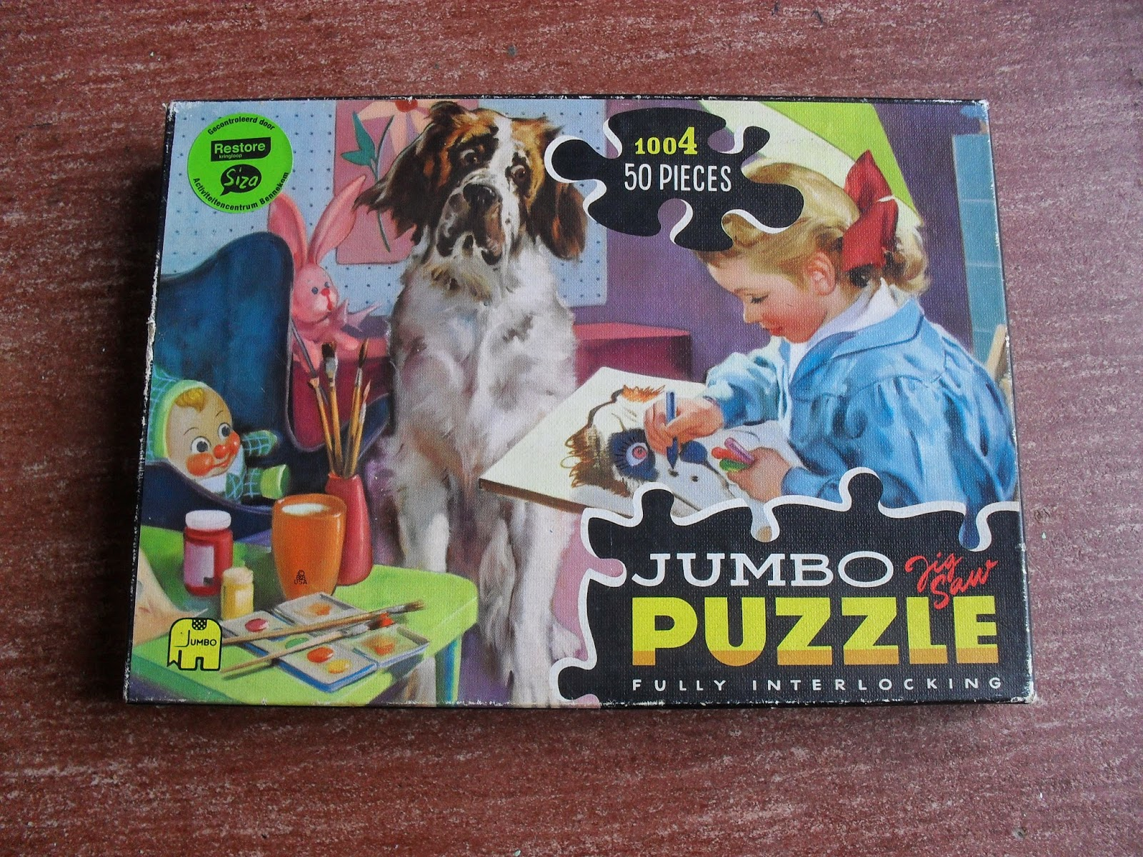 nostalgische puzzel