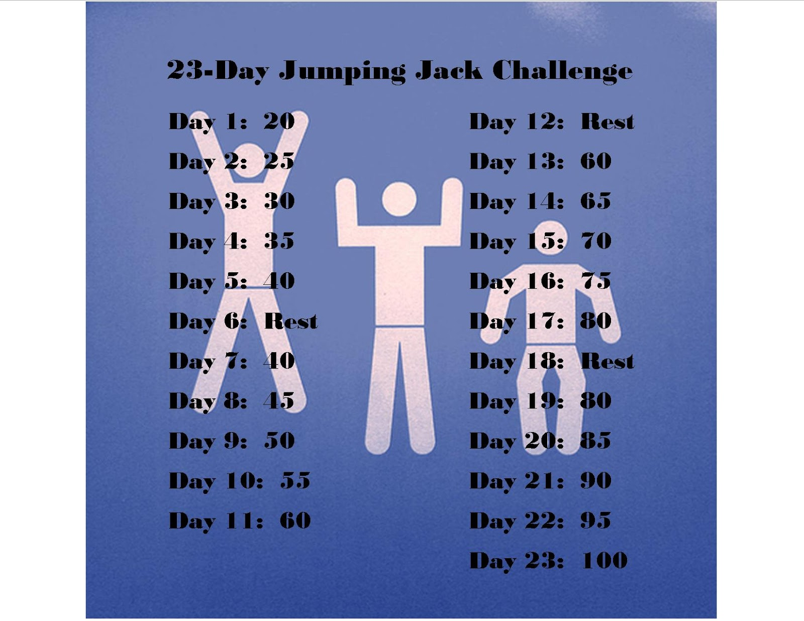 Jumping Jacks Challenge 2013 - Viewing Gallery