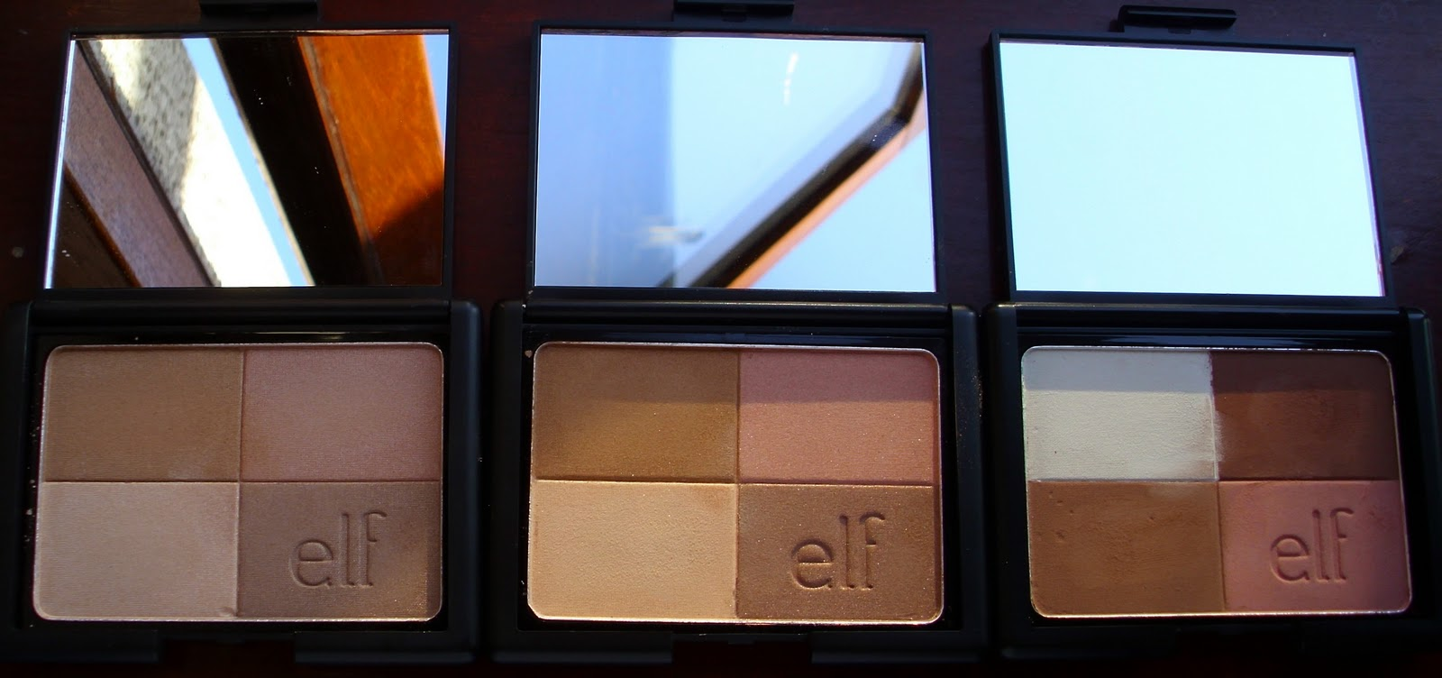 Ninas bargain beauty elf studio bronzer review elf says create a healthy looking glow all year round the sheer soft powders provide the perfect hue of color blend all 4 colors together to achieve a ccuart Choice Image
