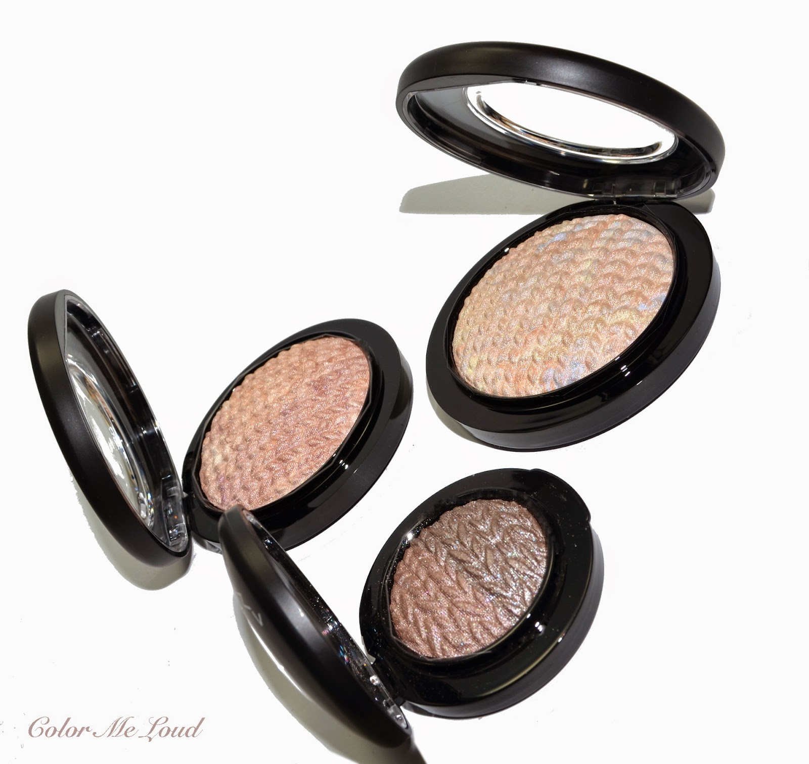 MAC Lightness of Being, Mineralize Skinfinish in Perfect Topping, Lightscapade and Eye Shadow in Force of Nature